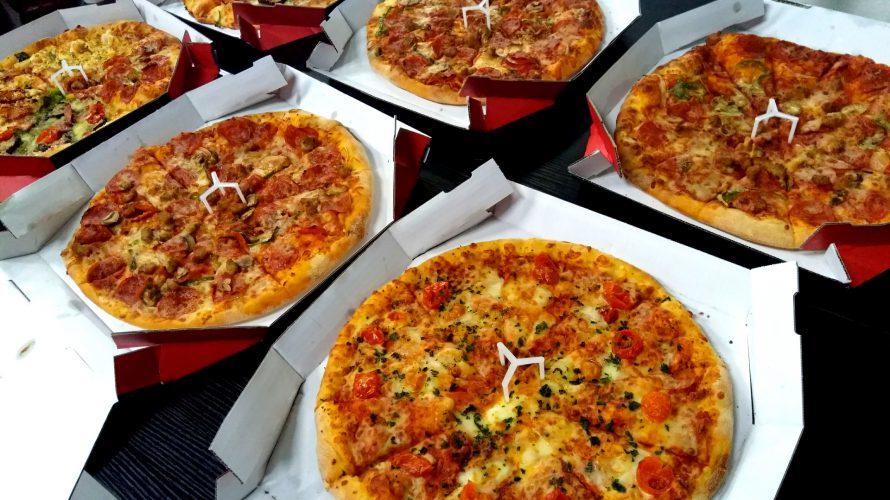 【全社でワイワイ 2月】ピザを食べながらまったり人狼ゲームで親睦を深める会