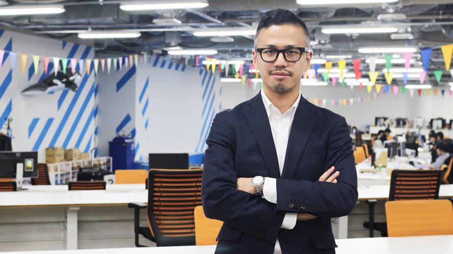 【社員インタビュー vol.1】プロダクトベンダーとして新たな市場を創り出す by. 田中 ジミー基樹