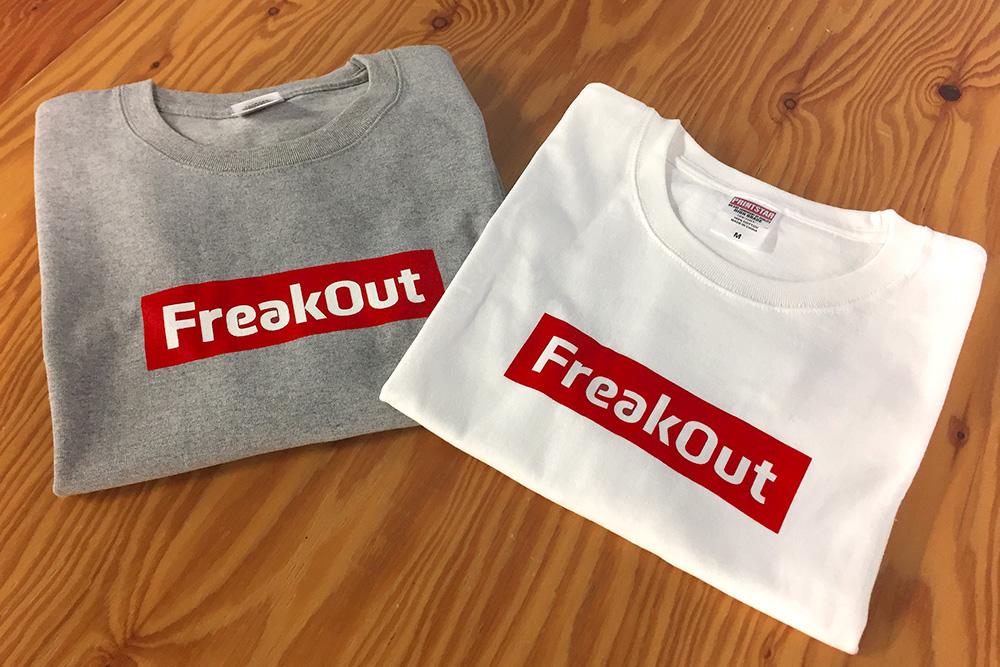 【ノベルティ紹介】フリークアウトのオリジナルTシャツをご紹介!