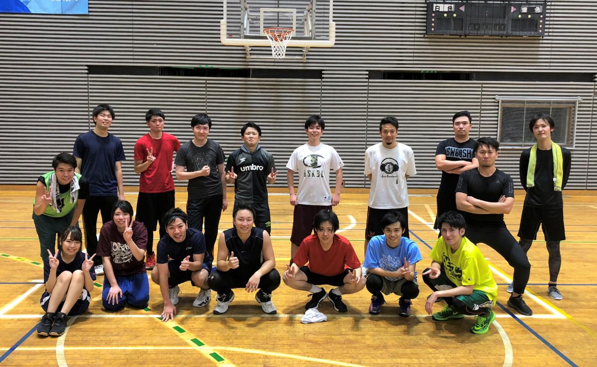 【バスケ部の活動】スポーツの秋!バレットグループのみなさんと一緒にバスケをしました!