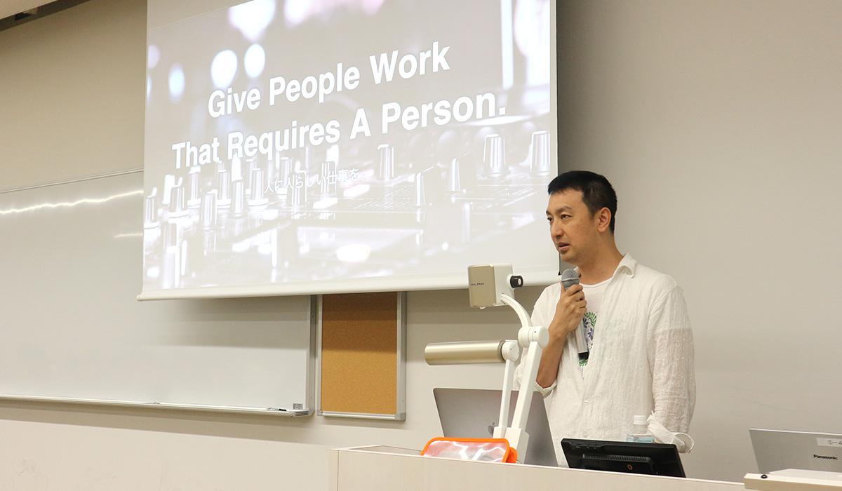 「人生のIRRを最大化する」母校の上智大学で、Global CEO 本田が登壇しました