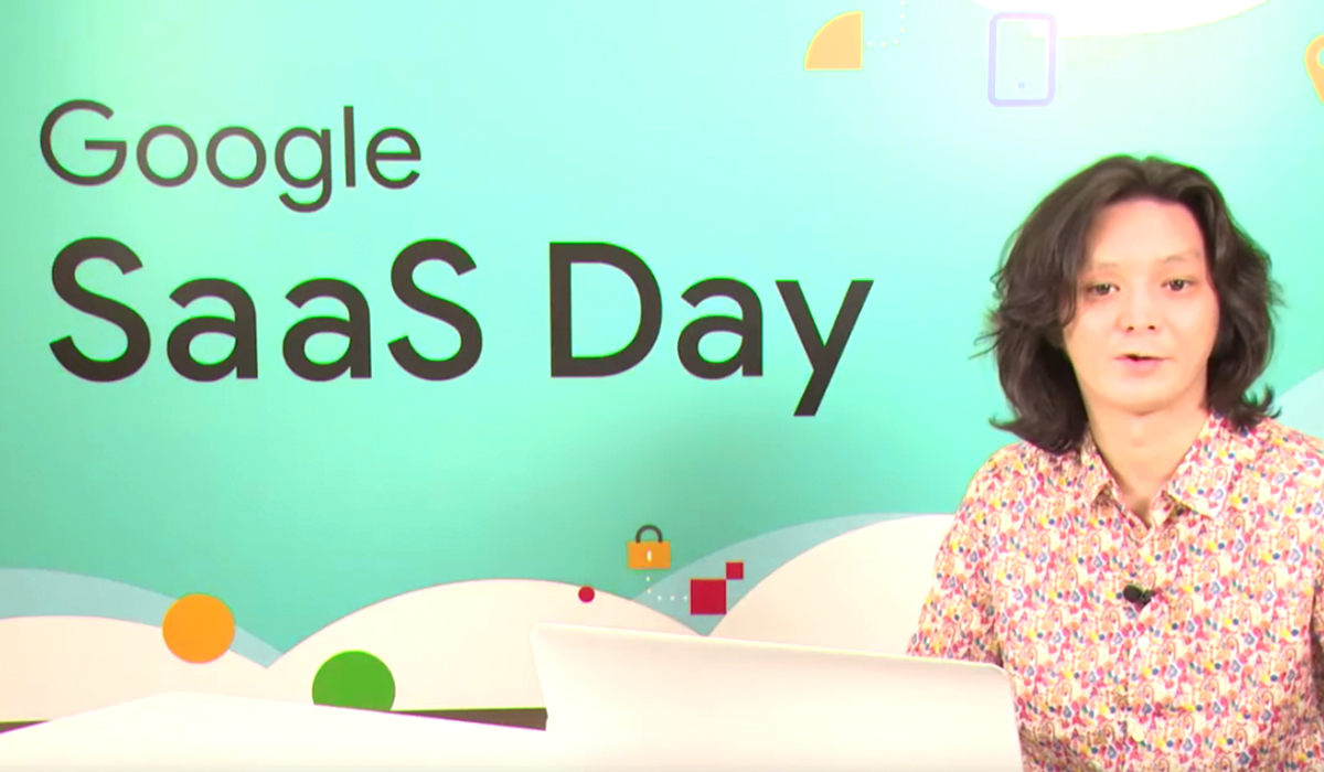 【レポート】「Google SaaS Day (2020/02)」に弊社 CTO 西口が登壇しました