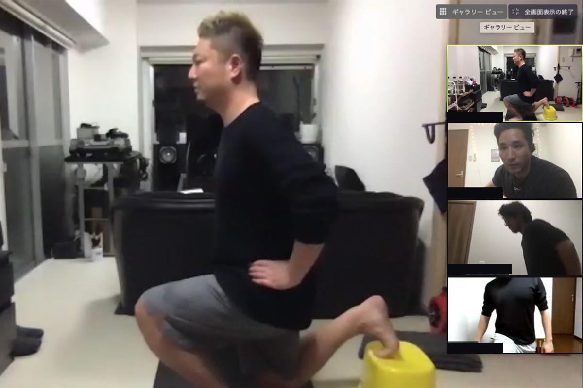 運動不足を解消!プロのトレーナーによるオンライントレーニング